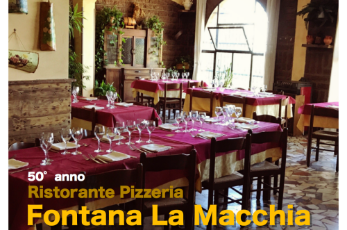 Ristorante Pizzeria Fontana La Macchia